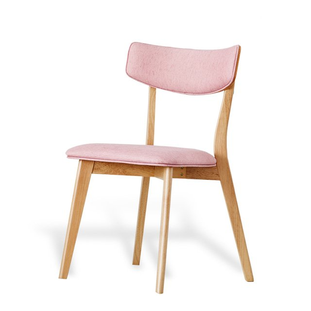 Chair-Wood-Pink
